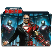 Tony Stark Iron Man by DCTrad