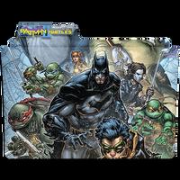 Batman TMNT II by DCTrad