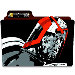 Judge Dredd by DCTrad