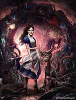 Dark Wonderland by OmriKoresh