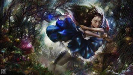 Make Haste, Alice. by OmriKoresh