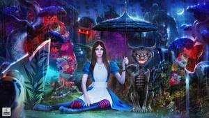 Alice in the Rain by OmriKoresh