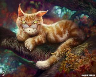 Cheshire Cat 2016 by OmriKoresh