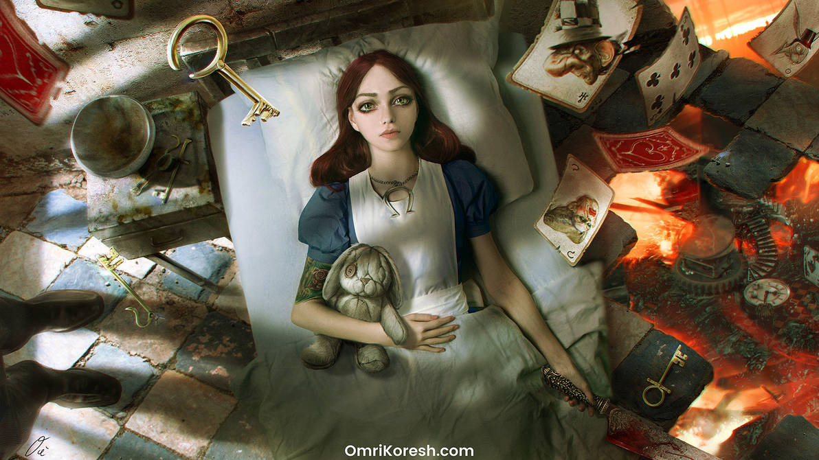 Alice Asylum: Wake Up Alice by OmriKoresh