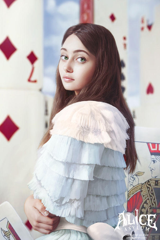 Alice Asylum: Ella Purnell As Alice by OmriKoresh