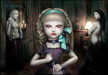 Claudia, the Child Vampire by OmriKoresh
