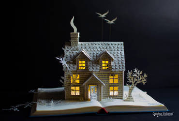 A Place To Call Home - Book Arts by MalenaValcarcel