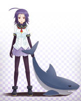 Shark Youka Naze by sunimu