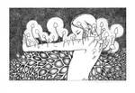 Mycelium Girl by TheMushroomancer