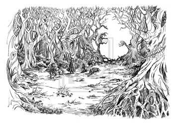 TableTopMusic: KickstarterCampaign-Dark Forest by TheMushroomancer