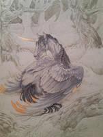 Gilded Ebony by InuRyoko
