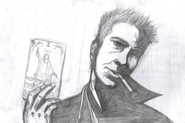 Constantine practice by BeryllBat