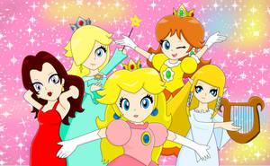 Nintendo Starlets by MarioSonicfans2000