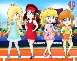 Aces Girls by MarioSonicfans2000