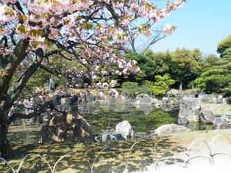 Nijo Castle Garden by HanyouInny