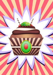 Cup Cakes : Fruit confit by Citronade-Arts