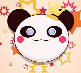 Kawaii : Panda chan by Citronade-Arts