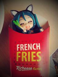 French Fries Miku by taranyan