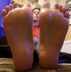 Oily boyfeet by cw20