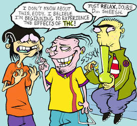 Ed, Edd, 'N' Eddy - Buds by fig13