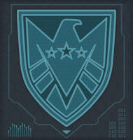 The real SHIELD logo by Dom-Graphcom
