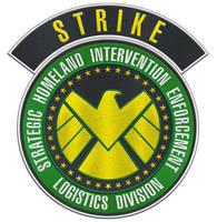 STRIKE-shoulder-patch by Dom-Graphcom