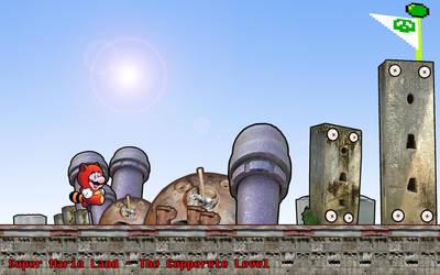Super Mario Land Copperete Lvl by GameScanner