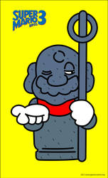 Tanooki Statue Mario by GameScanner