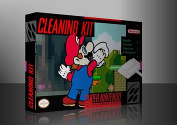 Super Nintendo Cleaning Kit Box Art by GameScanner