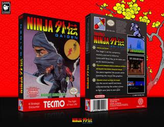 Ninja Ame Gaiden Nintendo NES presentation by game by GameScanner