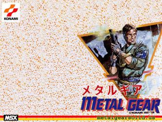 Metal Gear Famicom Wallpaper by GameScanner