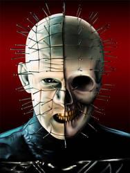 Pin-Skull by EvilFlesh