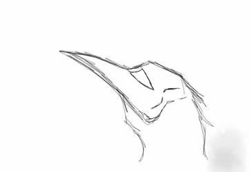 sketch of something random! by XDragonQueenX