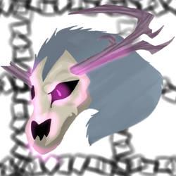 wendigo (gift for plague-seer) by XDragonQueenX