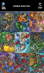 DC Epic Battles preview from Cryptozoic by dixey