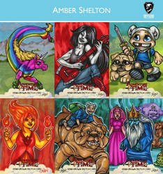 Adventure Time card set preview by dixey