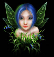 Bluebell Pixie by elestrial