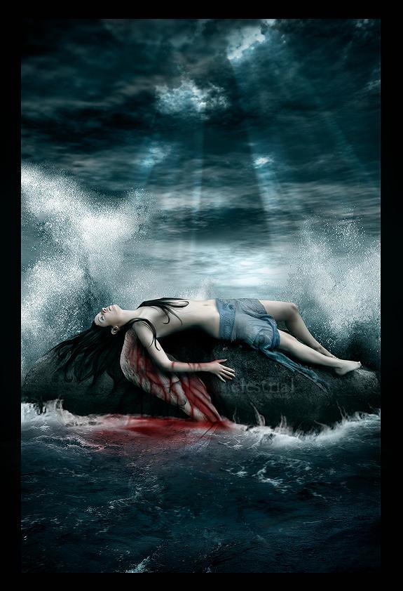 Death of an Angel by elestrial