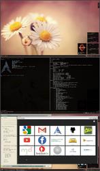 Archlinux KDE 4.10 by printesoi