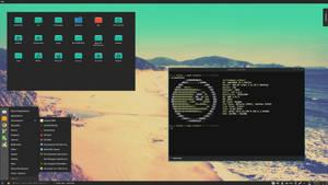 OpenSuse Bliss KDE by printesoi