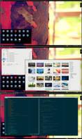 Rusty Archlinux with KDE 4 by printesoi