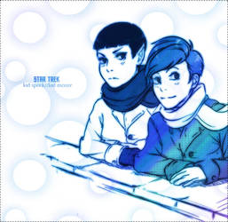ST-Spock McCoy childhood by Mkb-Diapason