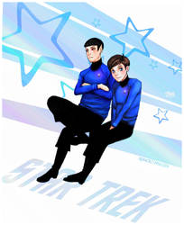ST- Spock and McCoy XD by Mkb-Diapason