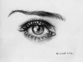 Eye drawing by heatherw290