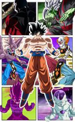 Dragon Ball Super Comic Mobile Wallpaper by TheRealFeezyE