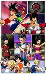 Dragon Ball Super Comic Mobile Wallpaper 2 by TheRealFeezyE