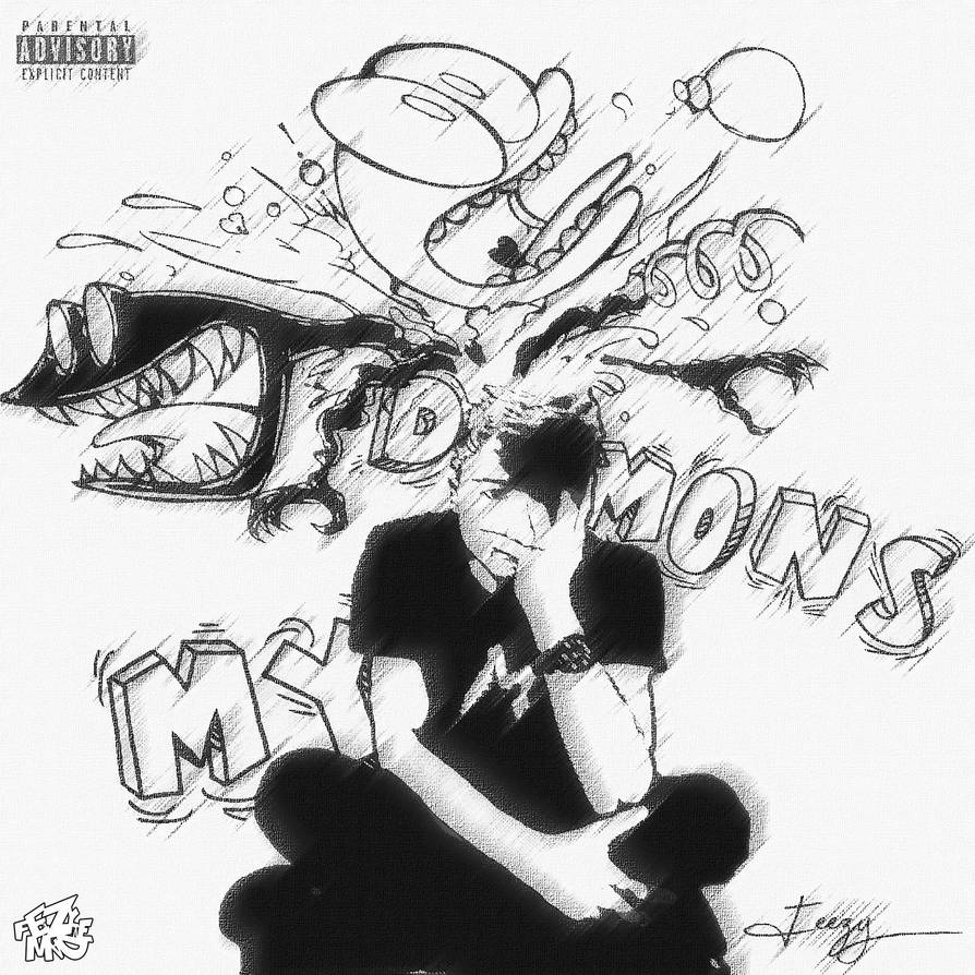 My Demons Single Cover by TheRealFeezyE