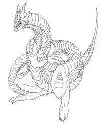 Dragon by iit0xicpandaii