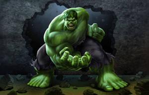 Hulk 2 by BobMacNeil