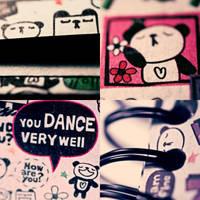 Panda Love. by TinaApple